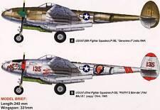 Hobby Boss Lockheed P-38 L-5-LO Lightning Modell-Bausatz - 1:48 USAAF 1944 1945