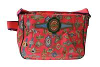 Oilily Fairy Tapes Frauentasche  Handtasche Tasche Schultertasche A4 - Fluo Pink