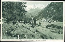 1935 - Gressoney St. Jean - Panorama
