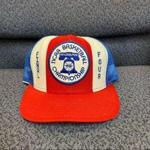 1981 NCAA Basketball Men's Final Four SnapBack Hat Pristine INDIANA HOOSIERS