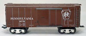 MARX 73417-2 Tuscan PRR Modern Box Car, New Production, 8-Wheel, Auto Couplers