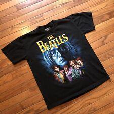 Rock Chang The Beatles T Shirt Size Medium Hologram Black John Lennon Top