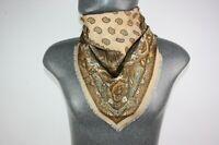 Vintage wool style Scarf mod dandy retro mens womens cravat foulard *1228