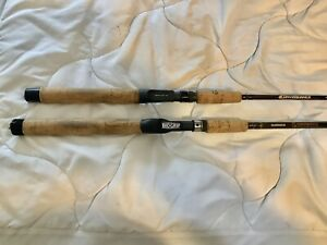 Pair SHIMANO CONVERGENCE rods, CCV-70MH , IM6 Graphite & a CV-60 MB, Excellent