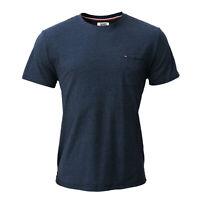 Tommy Hilfiger, Tommy Jeans Herren T-Shirt, dunkelblau, Größe L