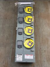 Square D Commercial Residential Service EZMR114-125 4 METER CENTER 125 AMP Quad