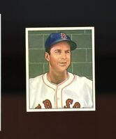 1950 Bowman BB Card #152 Ellis Kinder Boston Red Sox ROOKIE CARD NR-MINT