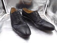 Star Artioli Black Leather Shoes US 9 1/2 Mens
