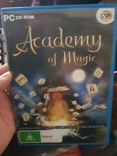 Academy of Magic - PC GAME - FREE POST