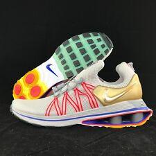 Nike Shox Gravity USA Grey Gold Red Blue White Yellow AQ8553-009 Men's 9.5-10.5