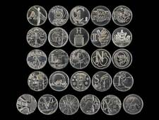 2019 Uncirculated Royal Mint Alphabet A to Z New 10p Ten Pence Choose Your Coin