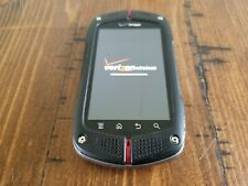 Casio GzOne Commando C771 Black (Verizon) 3G Rugged Android Touch Smartphone