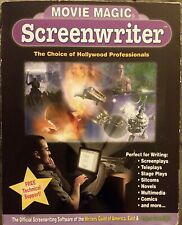 Movie Magic Screenwriter Official Software Of Writers Guild Complete GD+ fr/shp