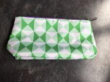 Clinique Green White Make Up Bag BN