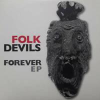 Folk Devils Forever EP CDR Optic Nerve Recordings 2020 NEW