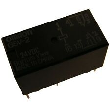 Omron g5v2-24 relais 24 V DC 2xum 2 A 1152r Relay for Signal Circuits 854068