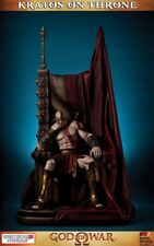GOD OF WAR Kratos on Ares Throne 1/4 Polystone Statue Gaming Heads