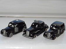 (W) Budgie Lot de 3 Austin Taxi/WOLSLEY six-vingt Police - 13/5