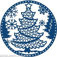 NEW Tattered Lace 'Christmas Tree Snowglobe' - D0485  - FREE UK P&P - VERY RARE
