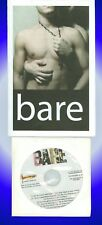 Playbill + bare + Canadian Premiere, David Alves, Alex Dvorak, demo CD from OOBC