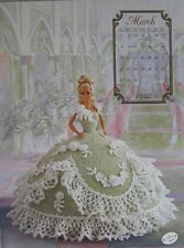 Annie Attic Fashion Bed Doll Crochet Pattern March 1992 Cotillion Collection