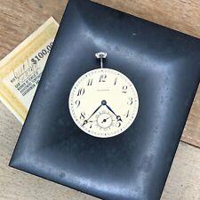 10s Howard Pocket Watch Movement - Series 12 - 17 Jewels + Original Box
