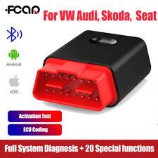 Bluetooth OBDII Scanner Automotive Code Reader Car Diagnostic For VW Audi Skoda