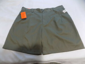"""""""NWT"""" IZOD XFG COOL FX Pleated Estreme Function Golf Shorts Green Size 40"""
