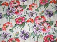 BTY SUMMER GARDEN Multi Print 100% Cotton Quilt Craft DEAR STELLA Fabric by Yard