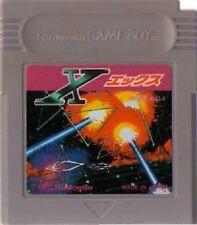 Used X (Nintendo Game Boy, 1992) Japanese Retro Game