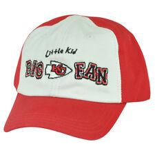 NFL Kansas City Chiefs Little Kid Big Fan Toddler Boys Garment Wash Red Hat Cap