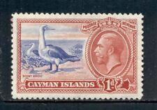 CAYMAN ISLANDS 87 SG98 MH 1935 1p KGV Booby Birds Cat$5