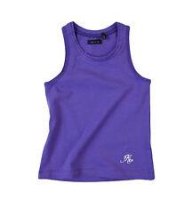SALE IKKS Mädchen Tank-Top, NP 19,90€, Jersey-Top violet lila Gr 98 104 110 116
