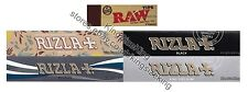 Rizla Set Kingsize Natura, Silver, Black, Micron, Raw Tips Rolling Paper Set