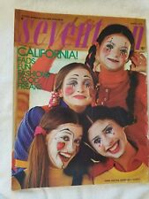 Seventeen Magazine March, 1972 (No Label) California! Fads, Fun, Fashion, Food