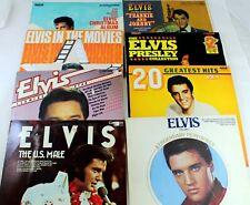 "Job Lot of 8 Elvis Presley 12"" Vinyl LPs"
