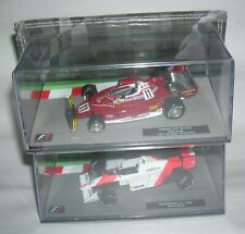 Formula 1 Lot- 2 pcs Ayrton Senna, Niki Lauda Diecast model car 1/43