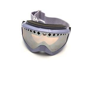 Gordini Women's Purple Black Snowboard Ski Goggles Adjustable Strap Winter Sport