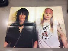 Giant Guns N' Roses poster 2 sided  axle rose Izzy &john bonjovi