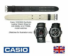 Genuine Casio Watch Strap Band for AW-590BL, G-7700BL, AW590, G7700 (10303924)