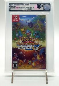 Pokemon Mystery Dungeon Rescue Team DX - Nintendo Switch VGA 80+ *No Reserve*