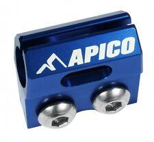 APICO BRAKE HOSE CLAMP YAMAHA YZ125 YZ250 YZF250 YZF450 05-08 BLUE