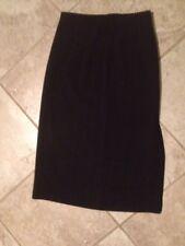 """Briggs Petite Black Skirt 10P USA 30"""" waist  8"""" zipper  32"""" length"""