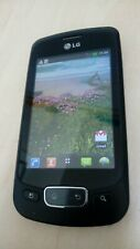 LG P500 - Black (Unlocked) Mobile Phone