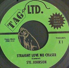 Northern Soul 45 Syl Johnson	Straight love no chaser/Surrounded Tag 114671
