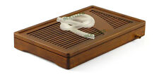 You Yi * High Grade Carbonized Bamboo Gongfu Tea Tray Serving Table 35*22*4.6cm