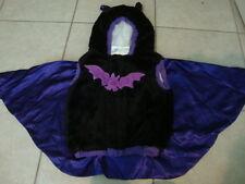 Toddler BAT plush Halloween costume, 12-24mo