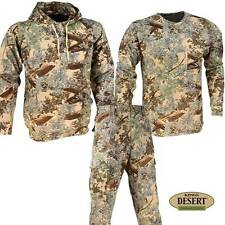 3 pc King's Camo Bundle Desert Shadow Mens Classic Pants Hoodie Shirt All Sizes