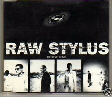 (D891) Raw Stylus, Believe In Me - 1995 DJ CD