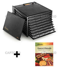 Excalibur 9 Tray 3900 Food Dehydrator Excaliber Free Preserve It Naturally Book